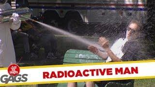 Radioactive Man - crazy prank