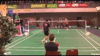 Julien Maio badminton - amazing shot