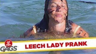 Leech Lady - Funny Prank