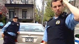 A Policeman's Prank