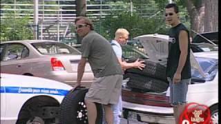 Funny Tire Thieves - crazy prank