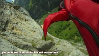 "Wingsuit ""proximity flying"" in Switzerland and Norway"