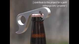Bottle opener of the future