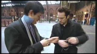Derren Brown Pickpocketing