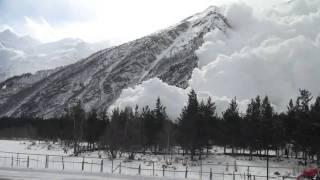 Avalanche on Cheget 2011