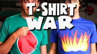T-SHIRT WAR!