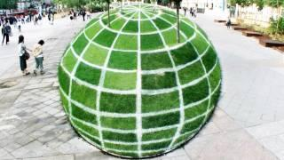Globe Illusion - Most Amazing World Illusion!
