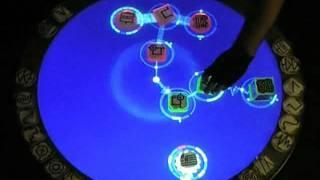 Futuristic DJ Desk