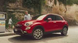 Fiat 500X - blue pill - funny car advert