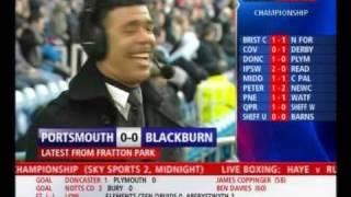 Chris Kamara misses sending off at Portsmouth.