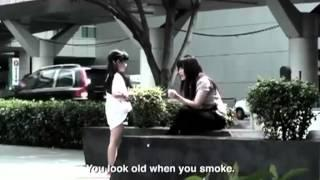 Clever anti-smoking ad from Thailand