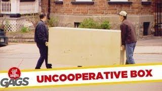 Uncooperative Box - hidden camera