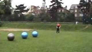 Swiss Ball Surfing