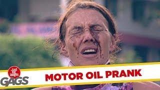 Motor Oil - Funny Prank