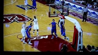 Fantastic basketball shot - Florida Gators against NC State