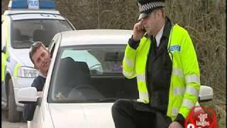Policeman Calls Friends - hidden camera joke