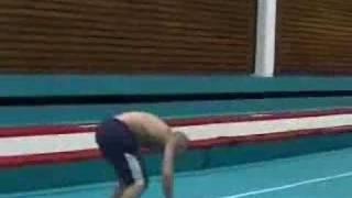 Amazing gymnast