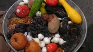 Time-lapse Vegetable and Fruit Decomposition